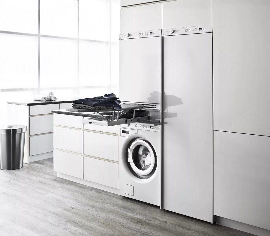 стиральные машины с гладильной доской Asko