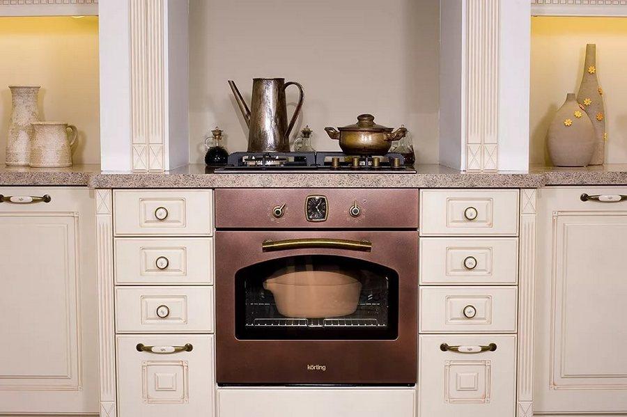 плиты, вытяжки и духовки Korting