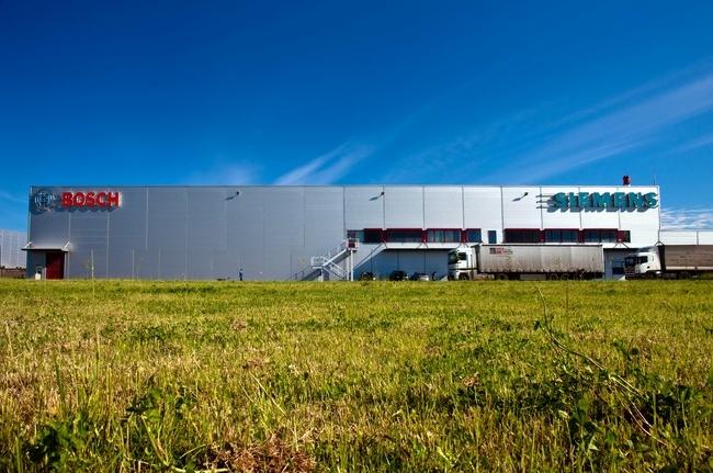Завод техники Bosh и Siemens